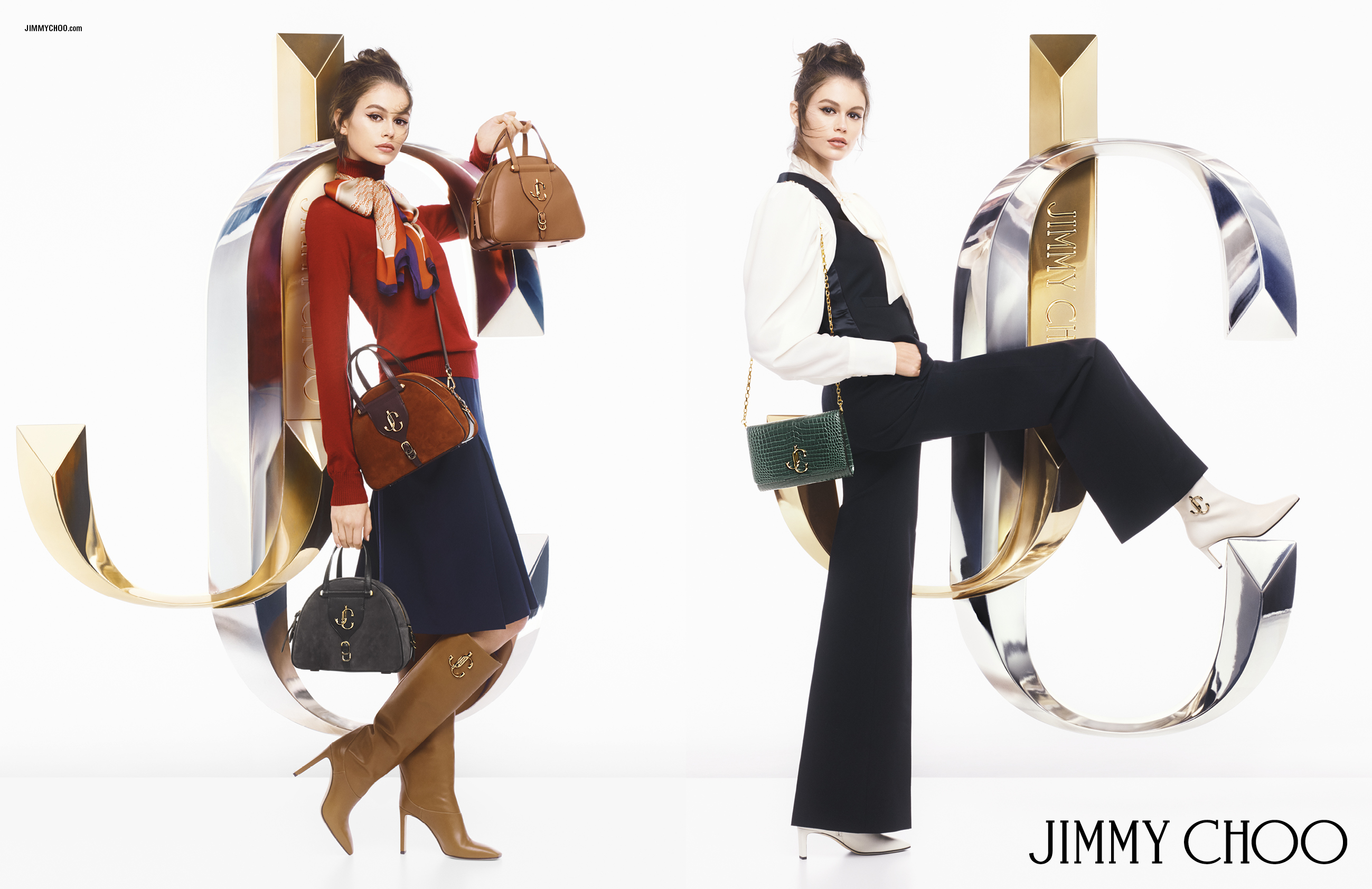 JIMMY CHOO UNVEILS AUTUMN/WINTER JC CAMPAIGN STARRING KAIA GERBER